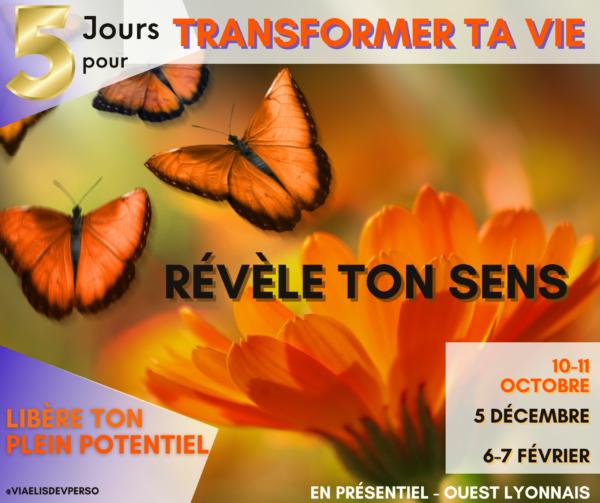 5 jours Pour Transformer Ta VIe
